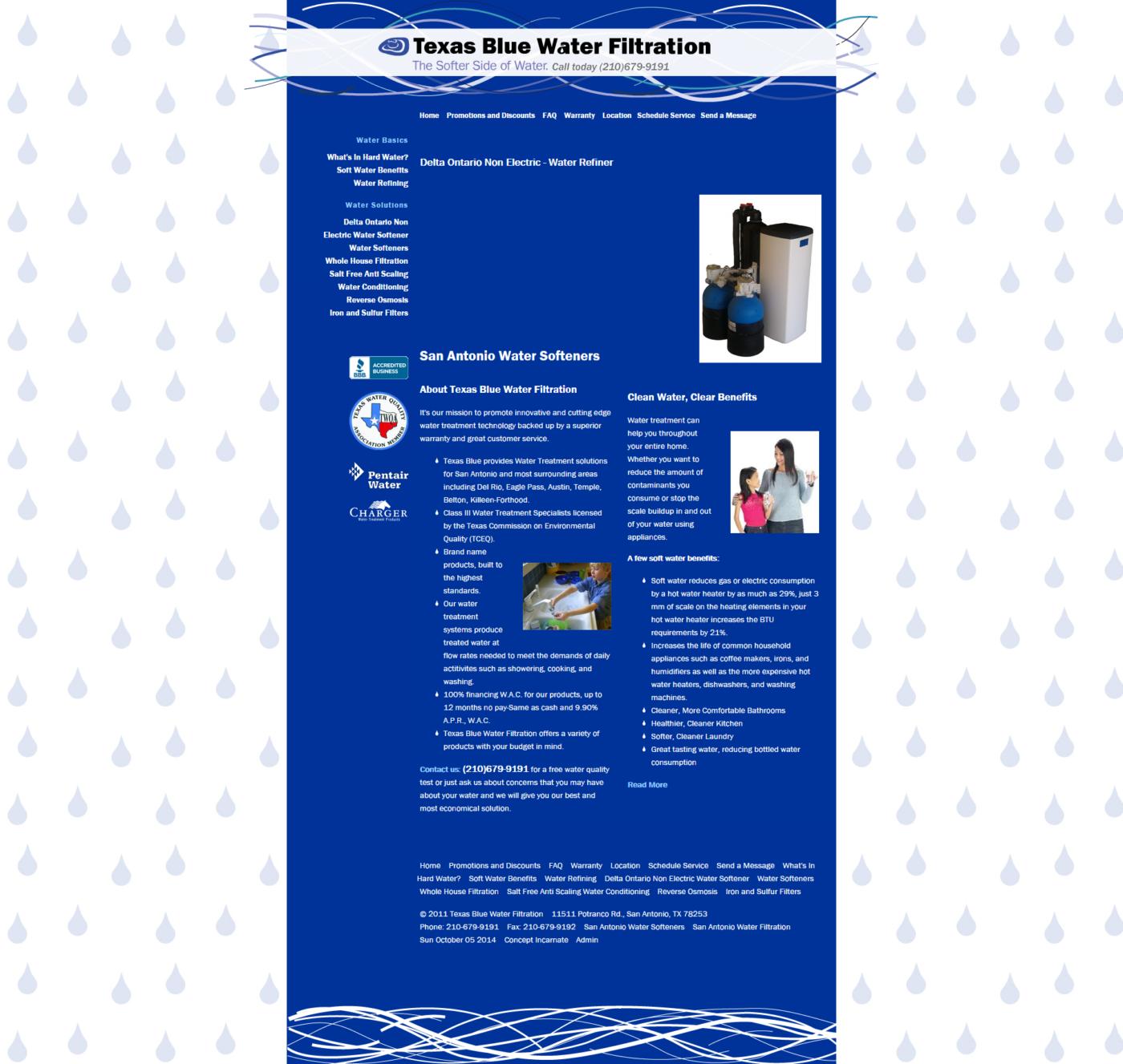 Texas Blue Water Design