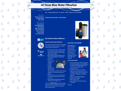 Texas Blue Water Design