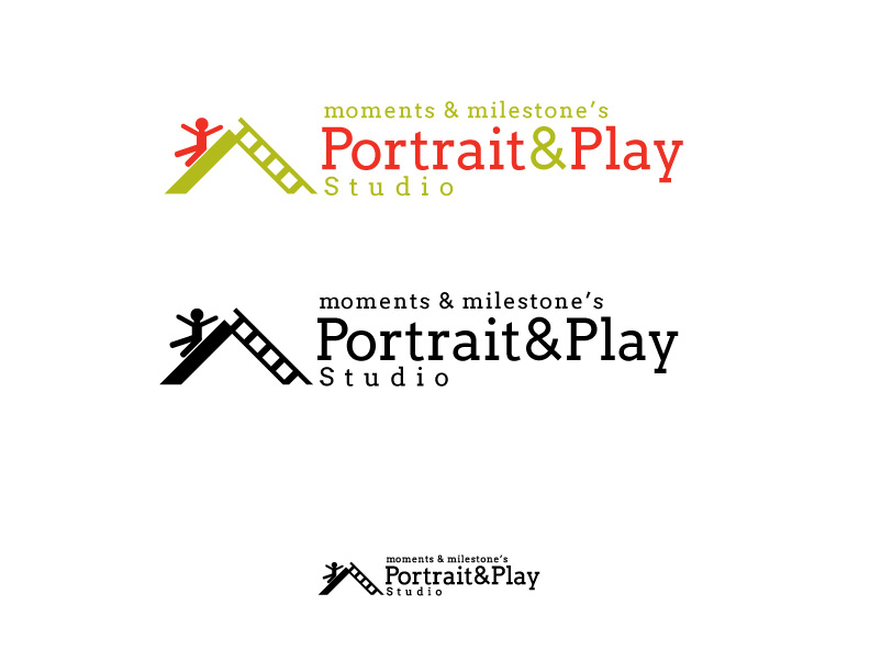 Logo Concept 1 for Portrait and Play Studio