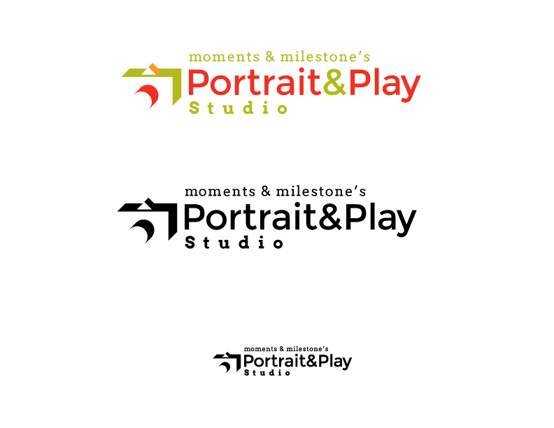Logo Concept 2 for Portrait and Play Studio