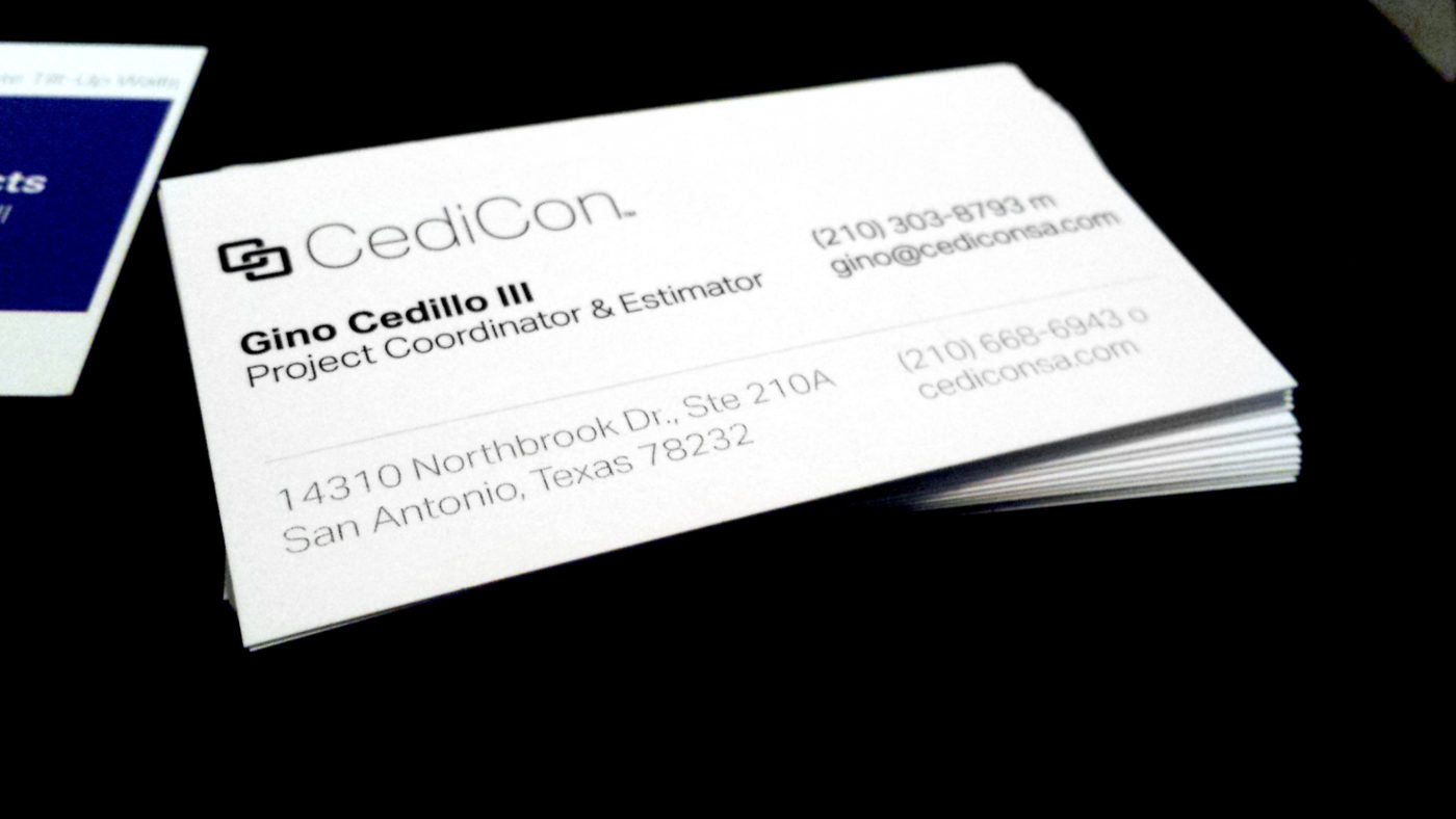 Business Cards for Cedicon